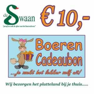 Boeren Cadeaubonnen 10 - Een Cadeaubon is het ideale kerstpakket voor elke medewerker - Bestel bij een BoerenCadeaubon- www.KerstpakkettenCadeaubon.nl