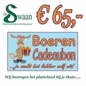 BoerenCadeaubon 65 – Kerstpakket Cadeaubon zelf je kado uitzoeken
