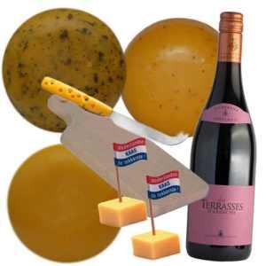 Kaaspakket Kaas en Wijnplezier