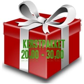 Kerstpakket € 20,00 - 30,00 - zoek je een kerstpakket voor een goedkope prijs - www.KerstpakkettenCadeaubon.nl