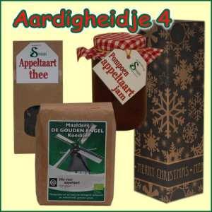 Kerstpakket Aardigheidje 4 - Streekpakket gevuld met lokale streekproducten - Relatiegeschenk Specialist - www.kerstpakkettencadeaubon.nl