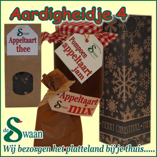 Kerstpakket Aardigheidje 4 - streek kerstpakket gevuld met huisgemaakte streekproducten - www.kerstpakkettencadeaubon.nl