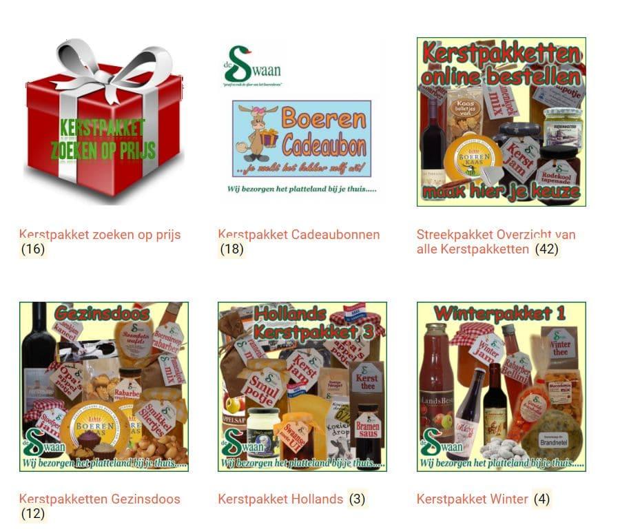 Kerstpakket Cadeaubon - Kerstpakket winkel - www.kerstpakkettencadeaubon.nl