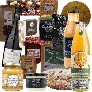 Kerstpakket Goed Gevuld 3 – Streekproducten Specialist