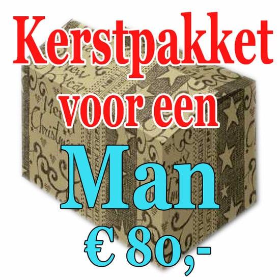 Kerstpakket Man Verrassing 80 - Verrassingspakket voor de Man - Kerstpakket verrassing Man - www.kerstpakkettencadeaubon.nl