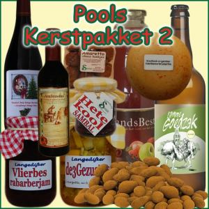 Kerstpakket Pools 2 - Streekpakket gevuld met unieke Noord-Hollandse streekproducten - Kerstpakket Specialist - www.kerstpakkettencadeaubon.nl