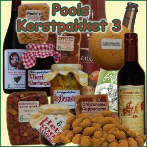 Kerstpakket Pools 3 - Streekpakket gevuld met unieke Noord-Hollandse streekproducten - Kerstpakket Specialist - www.kerstpakkettencadeaubon.nl