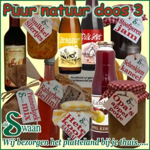 Kerstpakket Puur Natuur 3- Streek kerstpakket gevuld met puur Noord-Hollandse streekproducten - www.kerstpakkettencadeaubon.nl