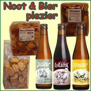 Noten en bier kerstpakket – Streekcadeau Specialist