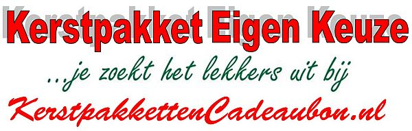 Kerstpakketten Cadeaubon Eigen Keuze - Stel je eigen kerstpakket samen in Heerhugowaard