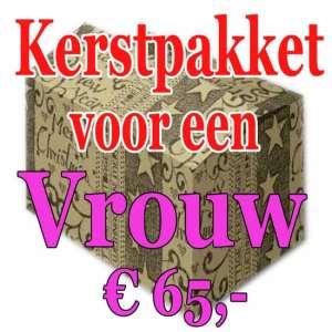 Verrassingspakket voor de Vrouw 65 - Mystery pakket - verras je vrouw - www.kerstpakkettencadeaubon.nl