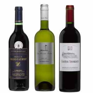 Wijnpakket Rondje Frankrijk 3 - Wijngeschenk Specialist - Wijngeschenk gevuld met luxe wijnen uit Frankrijk - Kerstpakket wijn - www.kerstpakkettencadeaubon.nl