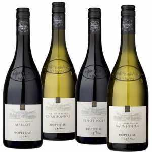 Wijnpakket Vin de France 4 - Wijngeschenk Specialist - Wijngeschenk gevuld met luxe wijnen uit Frankrijk - Kerstpakket wijn - www.kerstpakkettencadeaubon.nl