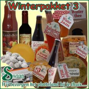 Winter kerstpakket 3 - Luxe winter streek Kerstpakketten bestellen - www.KerstpakkettenCadeaubon.nl