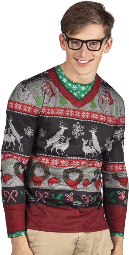 Kersttrui Heren L.Heren Kersttrui Humping Deer Kersttruienkopen Nl