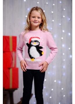 Kersttrui Kind.Kinder Kersttrui Pinguin Kersttruienkopen Nl