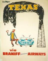 Flying in Style: Vintage Airline Posters