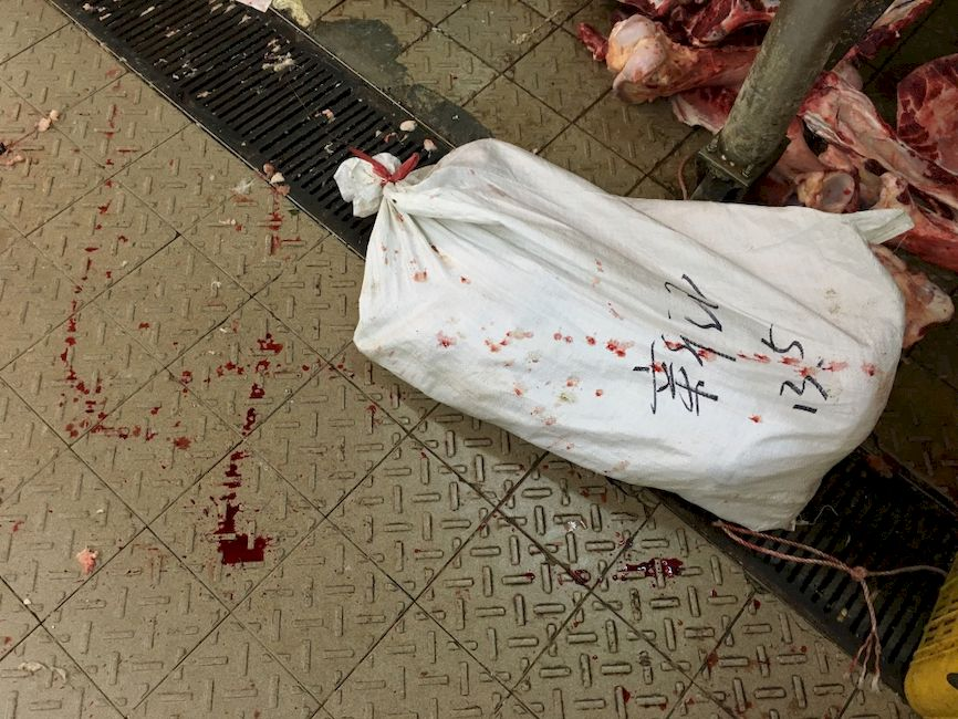 Blood and Meat, Hong Kong , Street Photographer