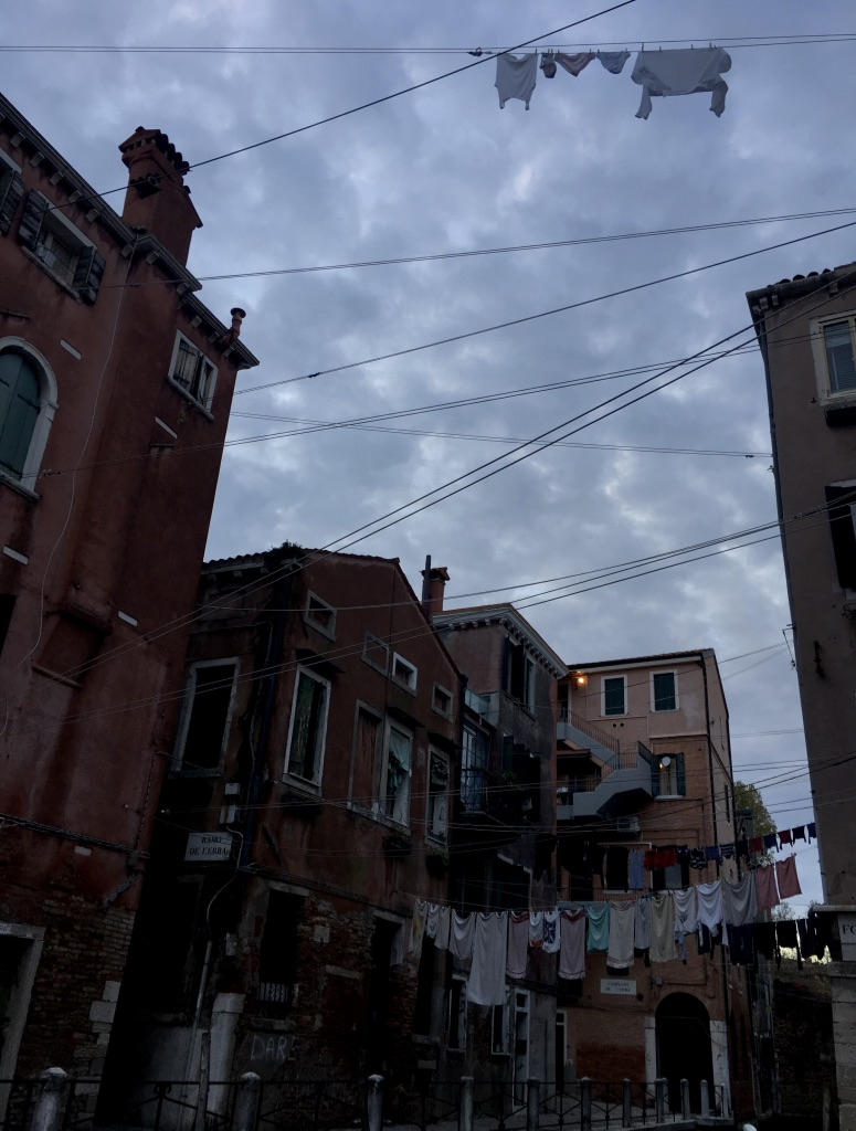Canals, bridges, campi and calli, the strange topography of Venice