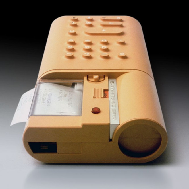 Mario Bellini. Divisumma 18 Electronic Printing Calculator. 1972