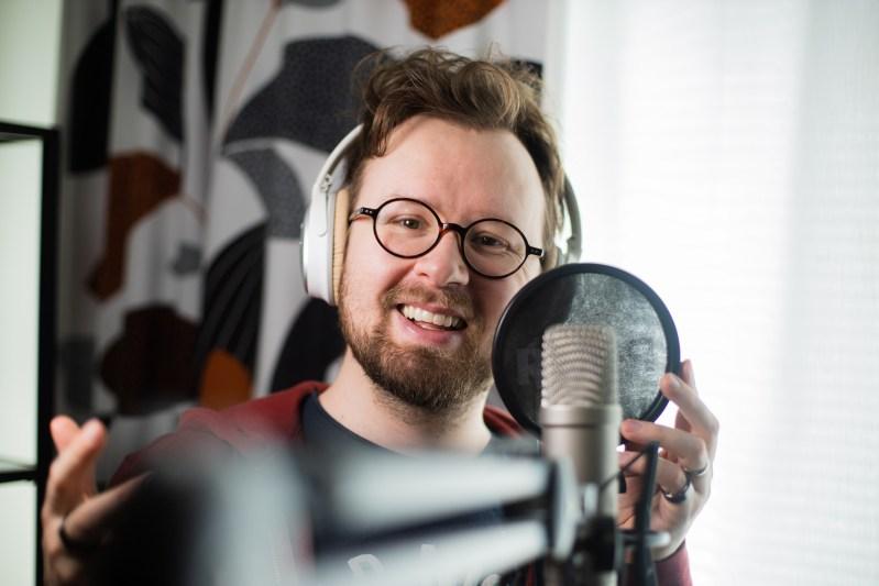 Jukka Ahola, kuvaaja Essi Pulkkinen