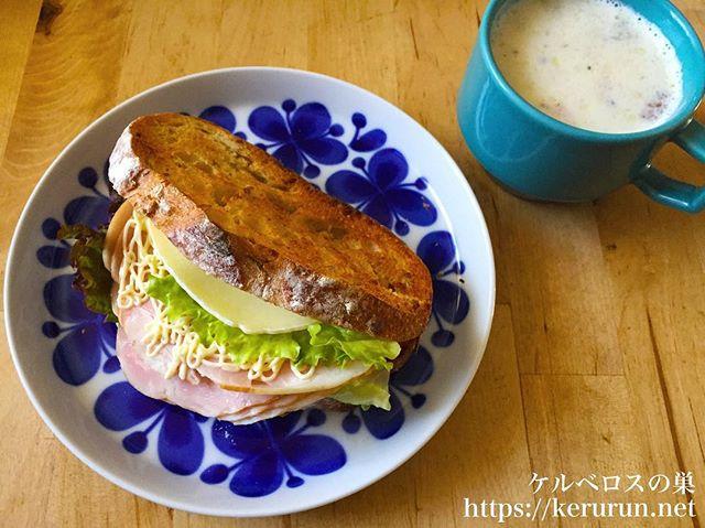 カントリーフレンチ5グレインブレッドで作るサンドイッチ
