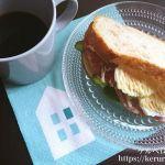 【コストコクッキング】カントリーフレンチホールウィートブレッドのサンドイッチ
