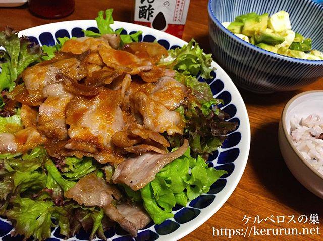 【コストコ食材活用】豚バラ肉のおろしポン酢がけ