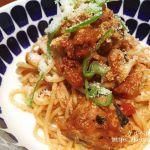 伊藤食品の鯖缶とコストコのマリナラソースで作るトマトパスタ