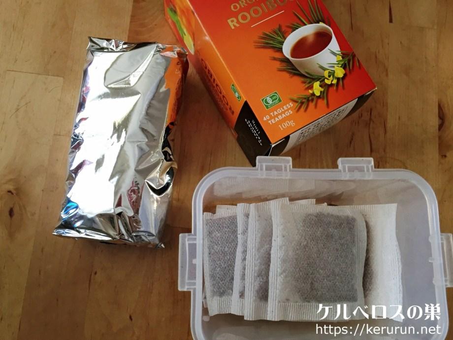 【コストコ】ロイヤルTオーガニックルイボスティー40包入4箱