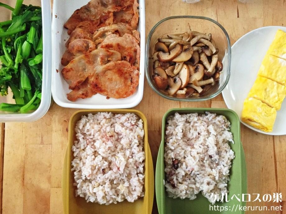 コストコの豚肩ロースで作る味噌漬け焼き弁当