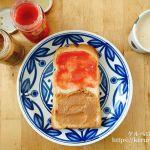 紀ノ国屋のいちごバターとくるみバターで朝ごはん