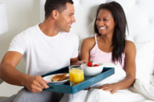 how to get your husband to serve you breakfast in bed
