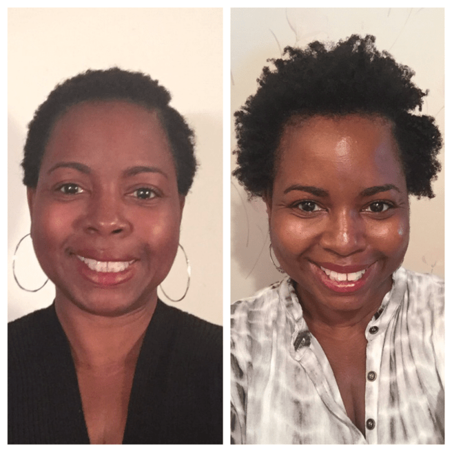 natural hair after 40