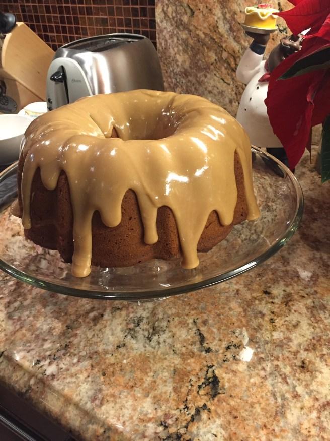 Southern Caramel Pound Cake