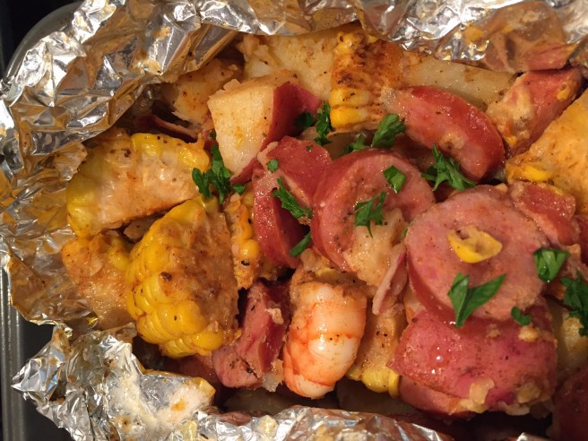 Shrimp Boil and Foil Packets