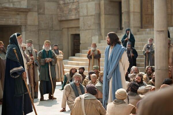 Jesus y los escribas