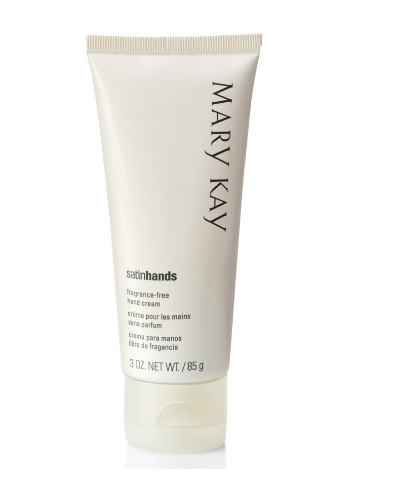 Mary Kay Satin Hands Cream Scrub & Softener Set