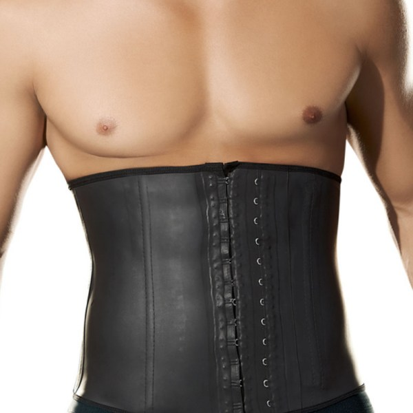 Men Latex Waist Trainer Sweat Belt for Fitness #2031