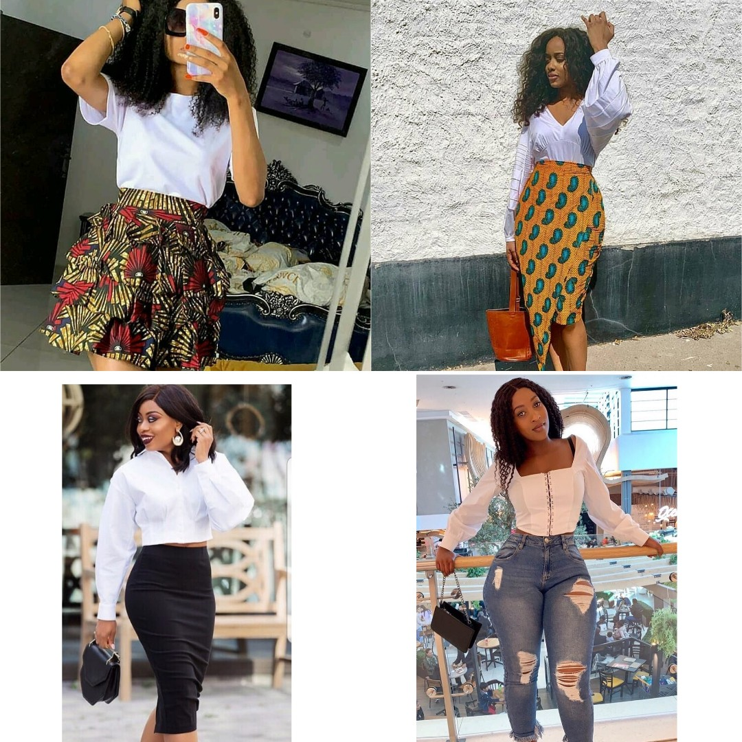 Beauties In White Current New Trend Alert