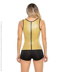 Metallic Waist Trainer Corset Vest for Slim Waist Weight loss