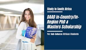 DAAD South Africa In-Country/In-Region Scholarship Programme 2021 for African Students