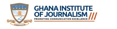 Ghana Institute of Journalism Admission List 2021/2022 – Full List