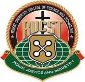 RUCST Admission Letter 2021/2022