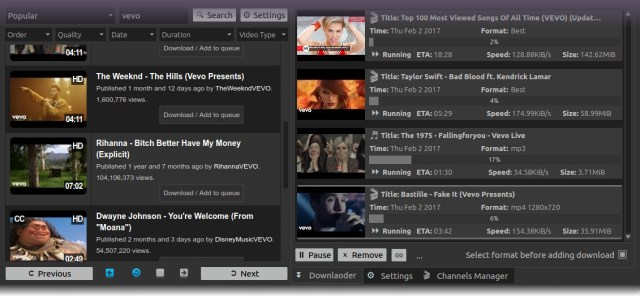 Ktube Media Donwloader for Linux