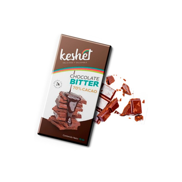 Chocolate Bitter 70 Keshet Cacao