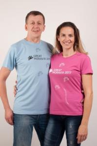 Mega Event Great Moravia: eventová trička