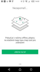 Aplikace Geocaching představuje offline mapy