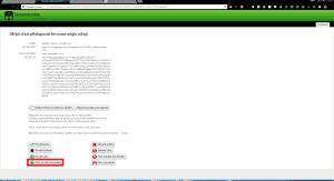 Povolit skript na webu geocaching.com