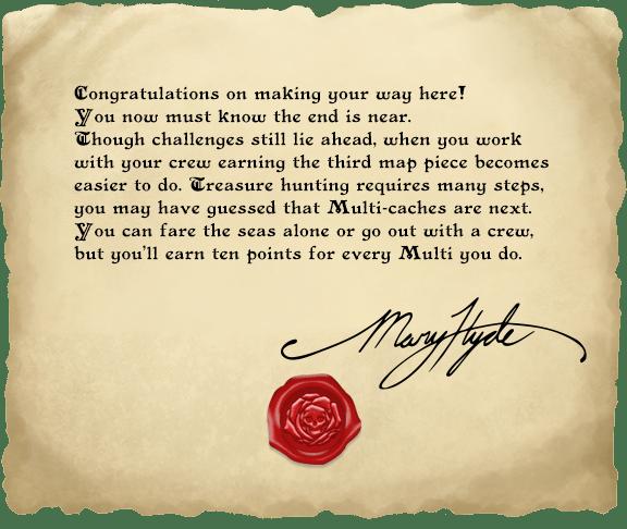 Další dopis Mary Hyde